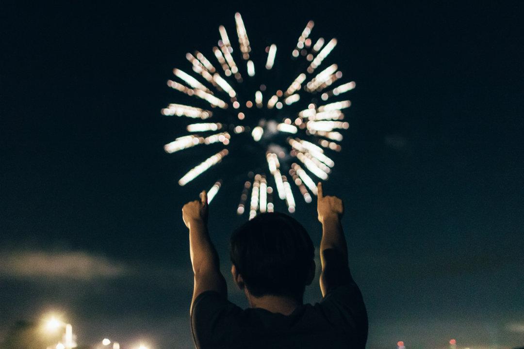 Neujahrsvorsätze-Funken